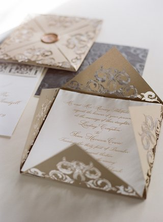 metallic-gold-and-silver-lasercut-wedding-invite