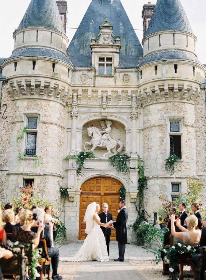 European Destination Wedding Ceremony