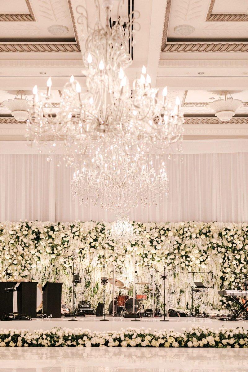 Luxury Wedding Band Stage