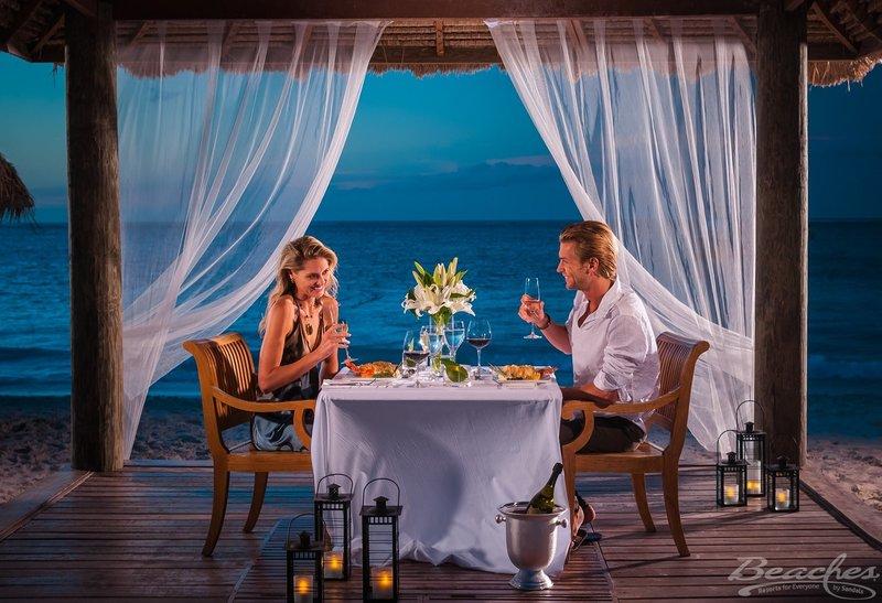 Romantic Dinner at Beaches Turks & Caicos