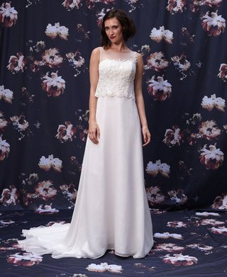 trumpet-wedding-dress-with-beaded-overlay-by-ivy-and-aster-fall-2016