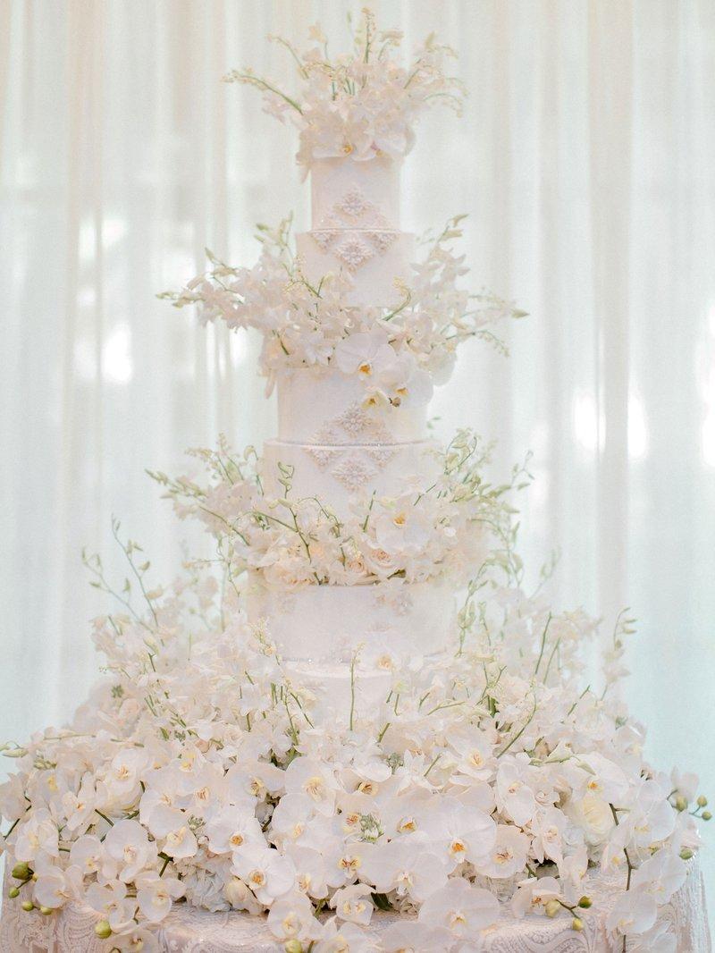Six-Foot-Tall Wedding Cake
