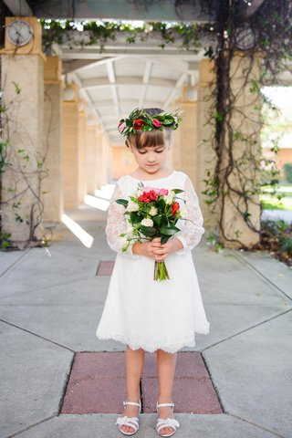 bohemian-boho-chic-flower-girl-with-lace-dress