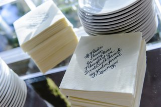 cocktail-napkins-in-white-with-blue-calligraphy-love-quotes
