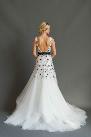 sabrina-dahan-2016-back-of-black-and-white-wedding-dress-with-low-back