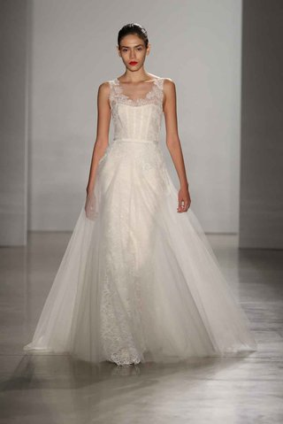amsale-fall-2016-lace-wedding-dress-with-tulle-overskirt
