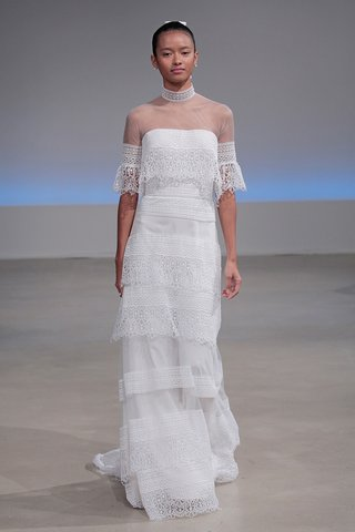 isabelle-armstrong-gabbi-fall-2017-guipure-lace-crepe-soft-a-line-tiered-skirt-collar-detail