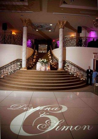 gobo-lighting-on-dance-floor-at-ballroom-wedding