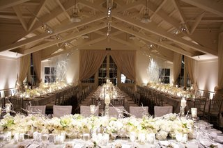 vaulted-ceiling-space-with-long-guest-tables