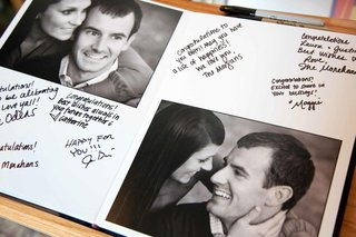 guestbook-with-black-and-white-photos-of-couple