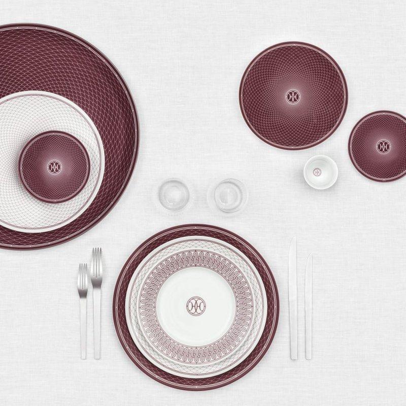 Hermès H Deco Red Dinnerware