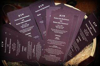 ceremony-programs-in-dark-eggplant-purple
