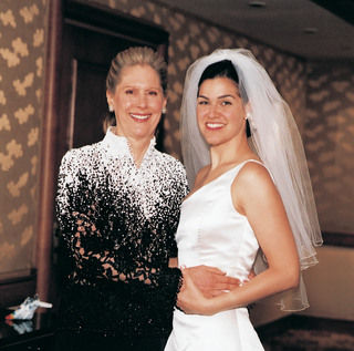 formal-mother-of-the-bride-attire-and-asymmetrical-bride