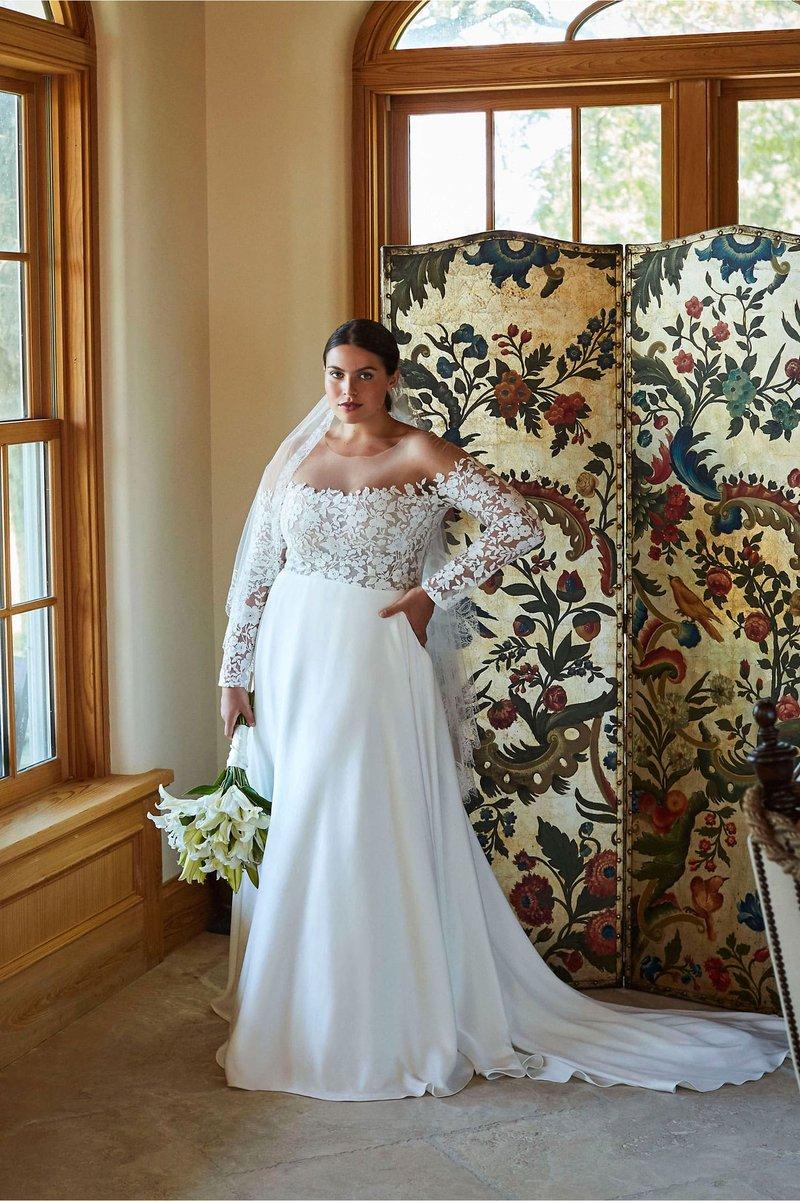"""""""Bradley"""" Wedding Dress with Pockets"""