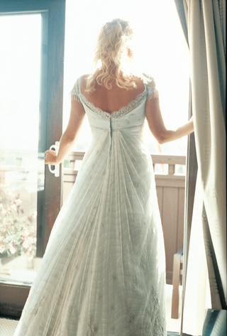back-view-of-wedding-dress-with-cap-sleeves