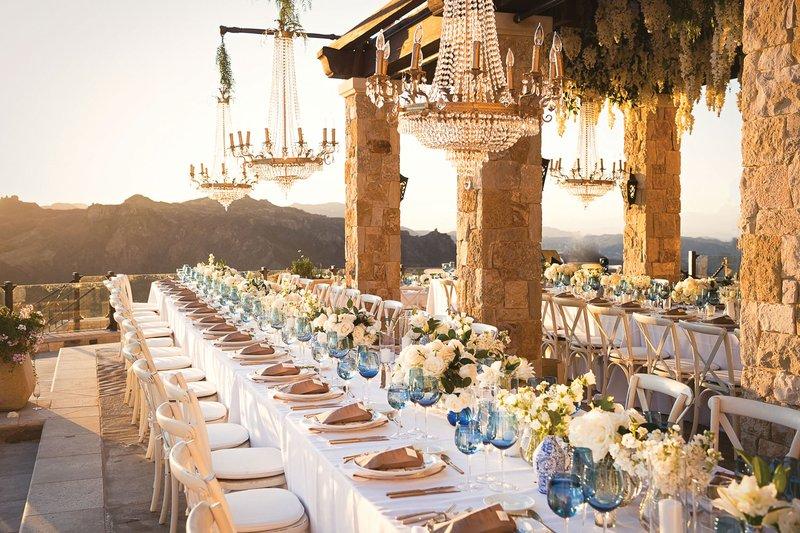 Malibu Open-Air Wedding Reception