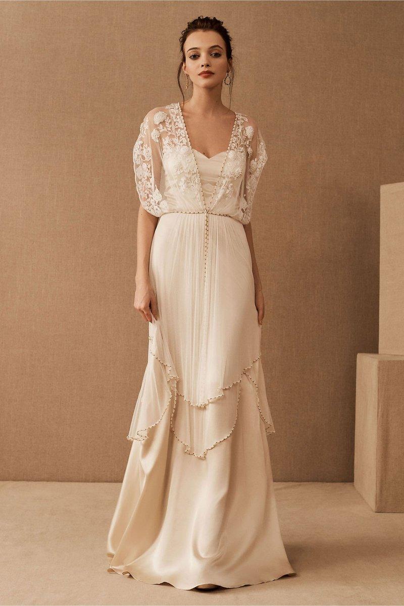 """Lita"" Vintage-Inspired Wedding Dress"