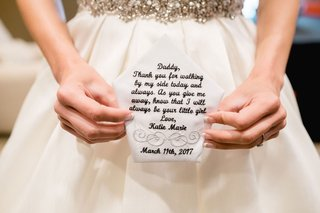 custom-embroidered-handkerchief-with-note-letter-from-bride-to-father-on-wedding-day