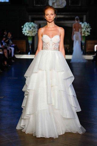 alon-livne-white-fall-2016-spaghetti-strap-sheer-bodice-and-tiered-organza-skirt-wedding-dress