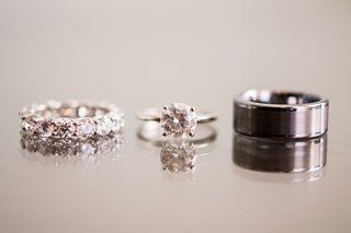 diamond-engagement-ring-solitaire-round-diamond-four-prong-black-grooms-mens-band-diamond-band