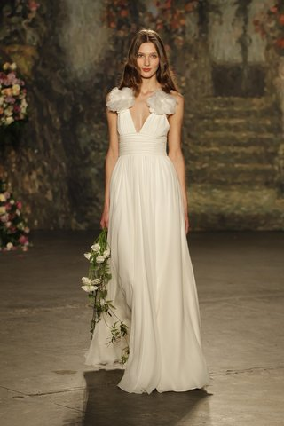 rouched-waist-draped-ceres-gown-with-fabric-flowers-on-shoulders-by-jenny-packham