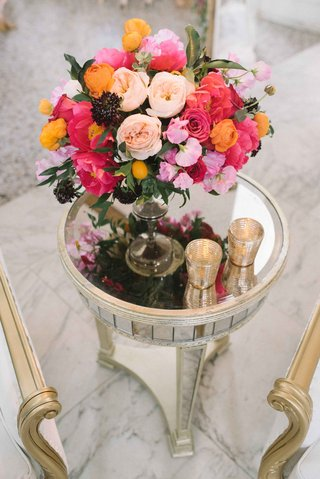 small-bold-side-table-arrangement-color-palette-lounge-area-wedding-reception