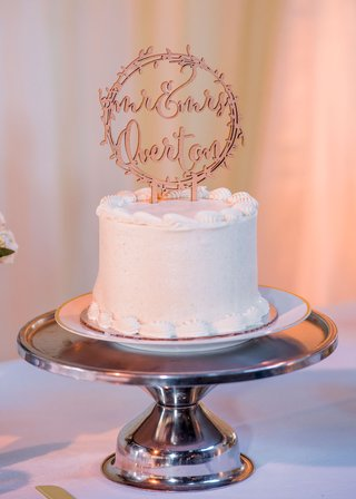 wedding-cake-small-one-layer-tier-on-cake-stand-mr-and-mrs-laser-cut-cake-topper-wood