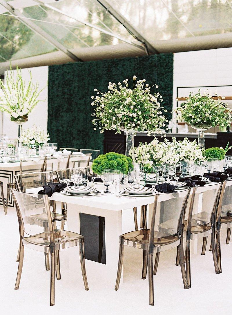 Modern Black & White Reception
