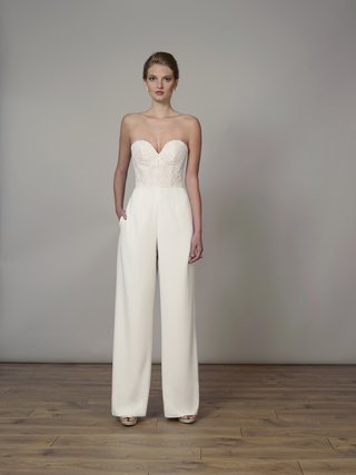style-7831x-by-liancarlo-spring-2018-corded-chantilly-lace-and-matte-crepe-strapless-jumpsuit