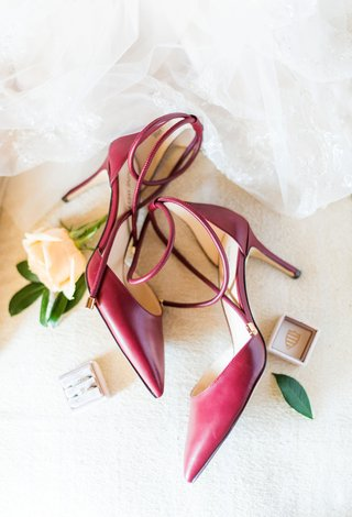 wedding-accessories-red-wedding-shoes-two-pairs-stiletto-for-ceremony-and-chunky-heel-for-reception