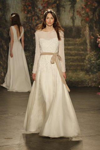 crew-neck-a-line-viola-gown-with-sheer-long-sleeves-and-belt-by-jenny-packham
