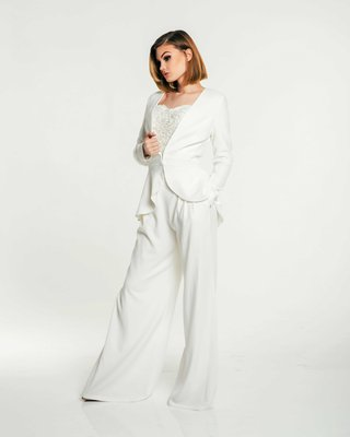 olia-zavozina-fall-2017-bridal-collection-madeline-wide-leg-pants-jacket-beaded-top-pantsuit-bridal
