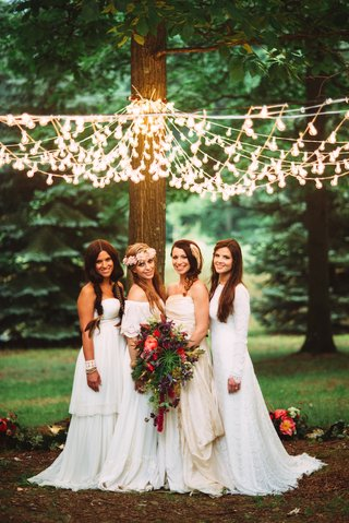 brides-with-bohemian-dresses-and-braids