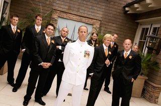 groom-wore-u-s-navy-dress-white-uniform-for-wedding