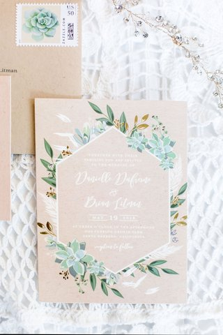 wedding-invitation-for-rustic-chic-wedding-in-santa-barbara-area-succulents-greenery-kraft-paper