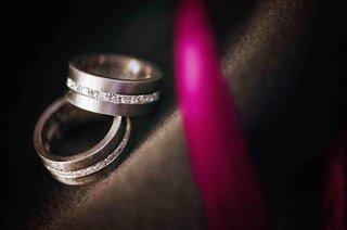 gay-wedding-rings-with-diamond-center-stripe
