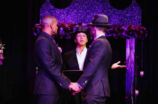shaun-t-gay-wedding-ceremony-purple-lighting