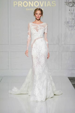 pronovias-2016-long-sleeve-lace-wedding-dress-with-sheer-effect
