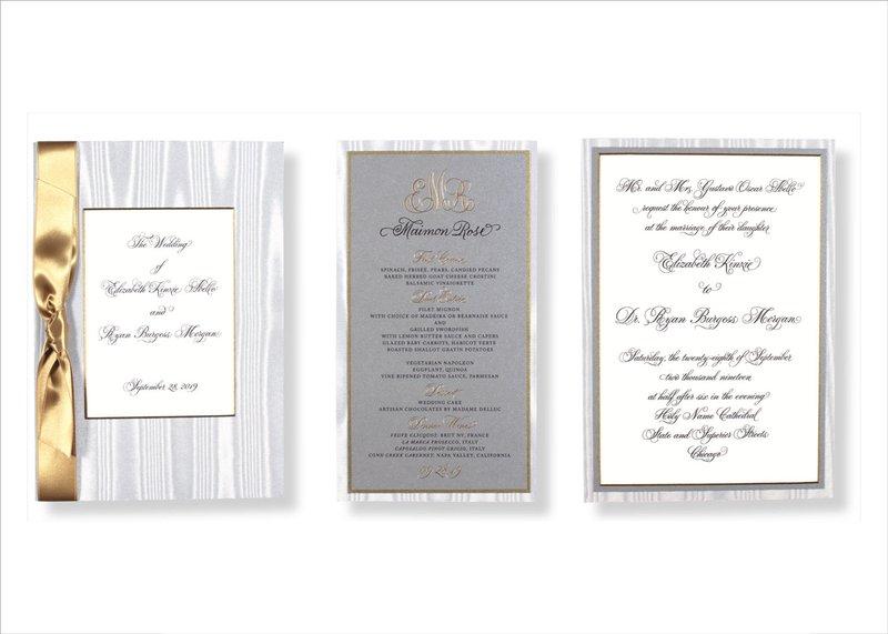 Elegant Invitation by Elizabeth Grace