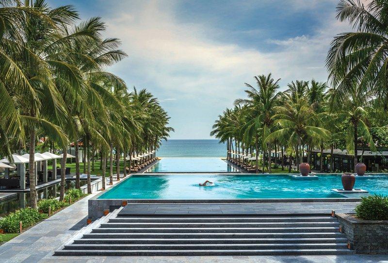 Pool at Four Seasons Resort The Nam Hai, Hoi An