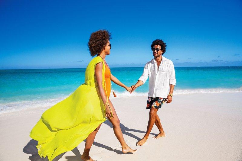 Couple on Beach at Beaches Resorts