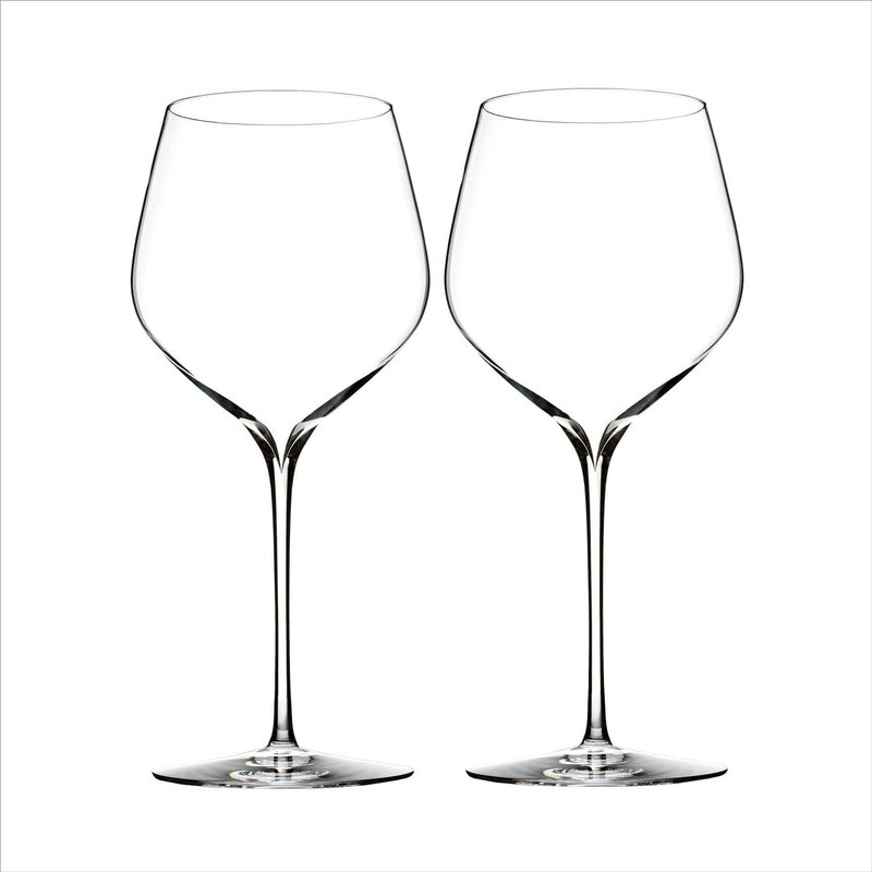 """Waterford """"Elegance"""" Wine Glasses"""