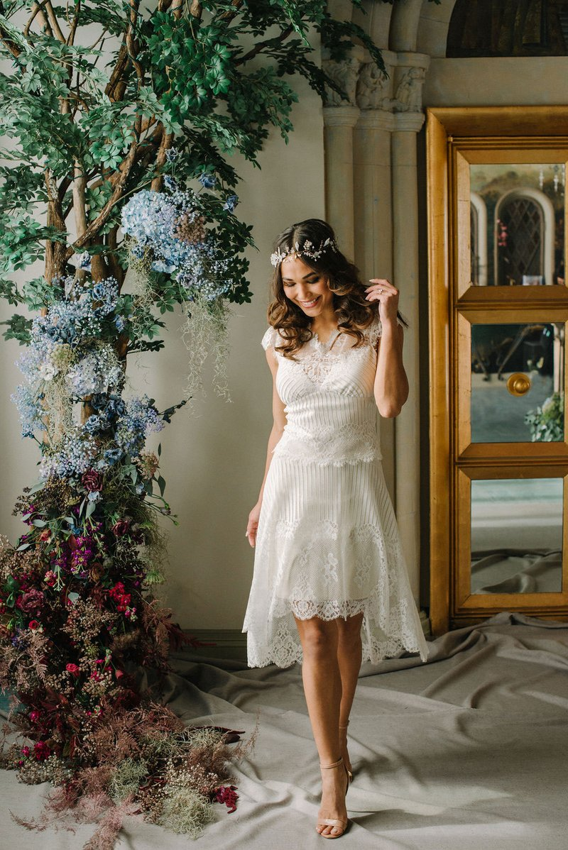"""""""Antoinette"""" High-Low Skirt and Tee by Claire Pettibone"""
