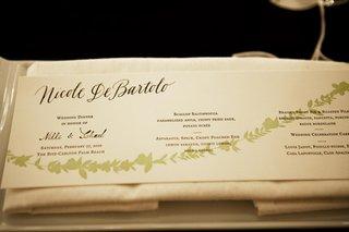 hot-dog-style-wedding-menu-card-with-green-leaf-design