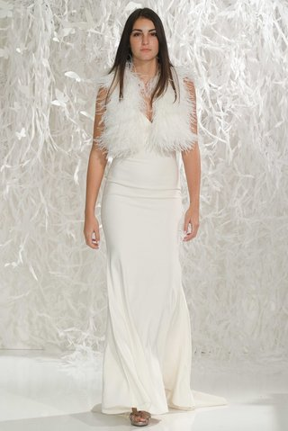 willowby-by-watters-2016-spaghetti-strap-wedding-dress-with-ostrich-feather-vest