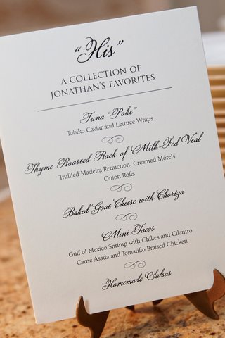 wedding-menu-buffet-area-with-collection-of-grooms-favorites-poke-veal-tacos-and
