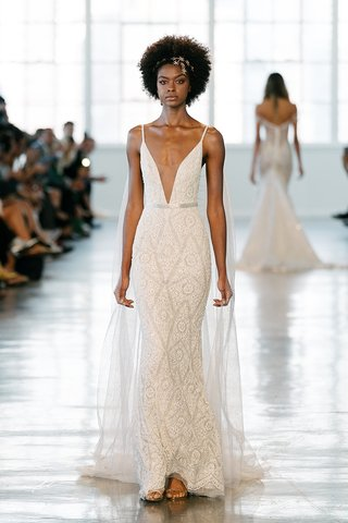 berta-fall-2018-wedding-dress-v-neck-spaghetti-strap-beaded-bridal-gown-geometric-print