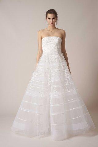 sachin-babi-spring-summer-2017-debut-bridal-collection-strapless-ball-gown-satin-stripe-skirt