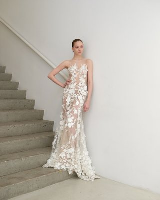 francesca-miranda-spring-2019-bridal-collection-tamara-fit-flare-illusion-wedding-dress-3d-flowers