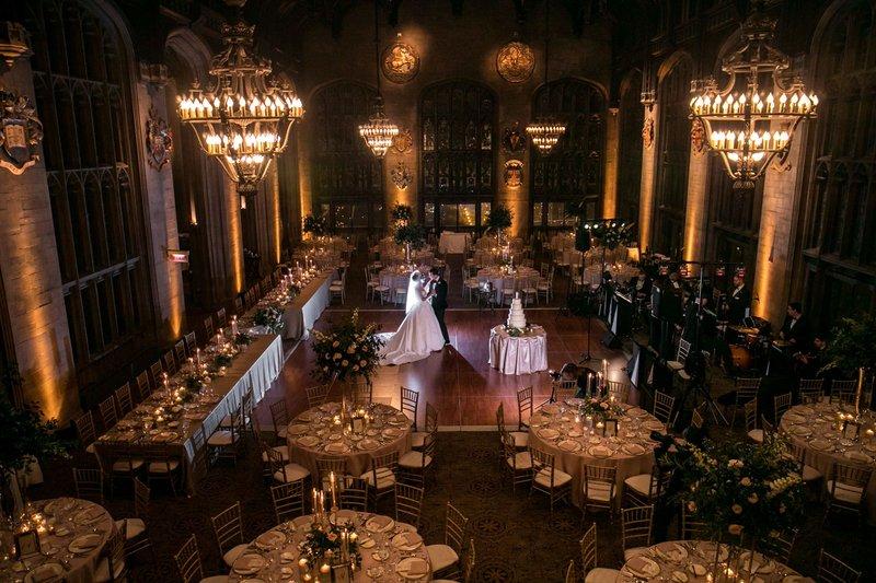 Wedding Reception at Gothic Hall